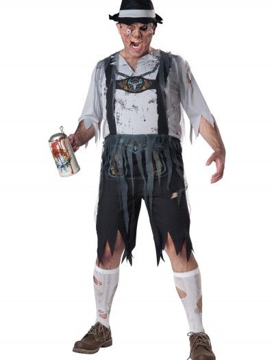 Plus Size Zombie OktoberFeast Costume, halloween costume (Plus Size Zombie OktoberFeast Costume)