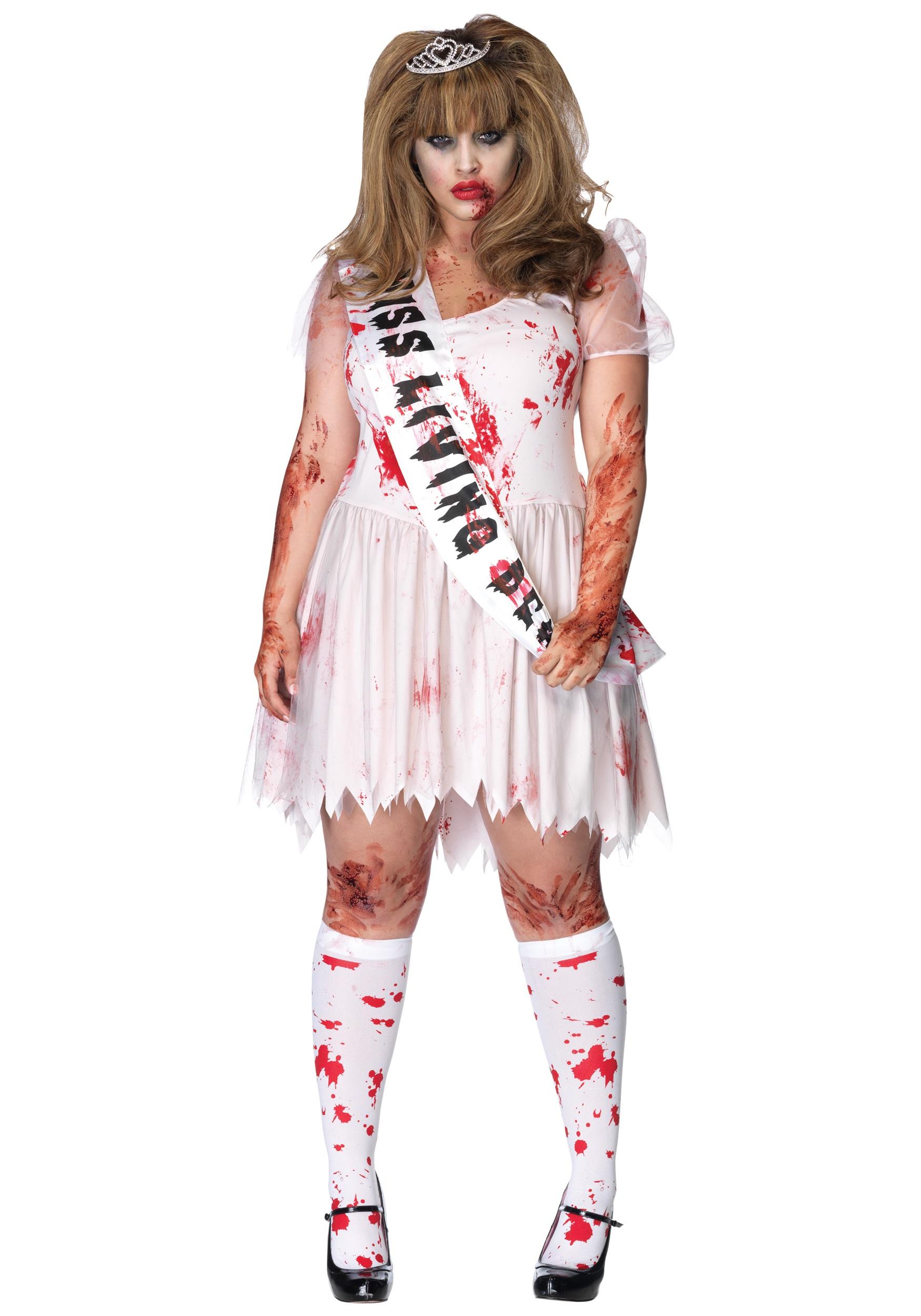 Легкий костюм на хэллоуин своими руками для девушки Бледная