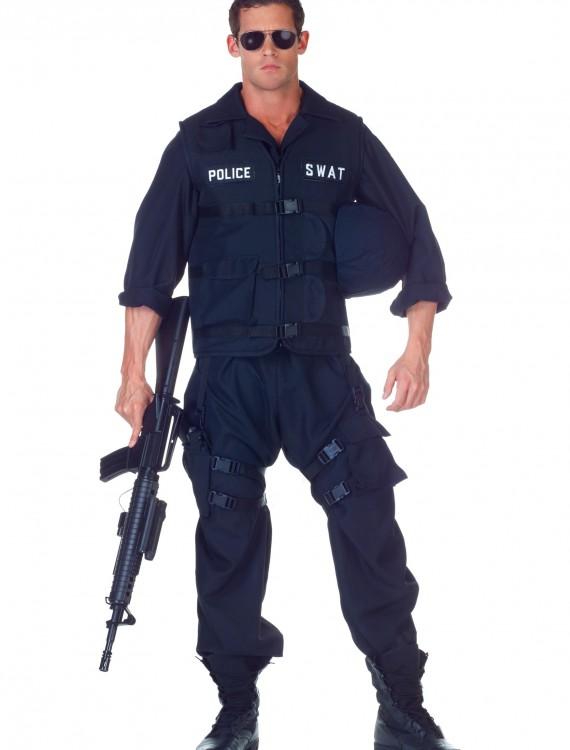 Plus SWAT Jumpsuit Costume, halloween costume (Plus SWAT Jumpsuit Costume)