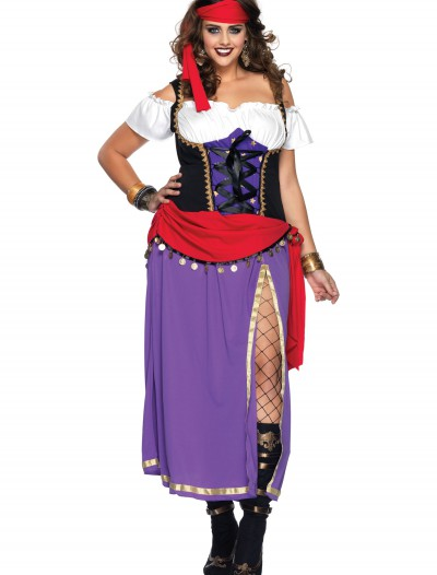 Plus Traveling Gypsy Costume, halloween costume (Plus Traveling Gypsy Costume)