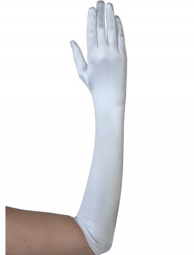 Plus White Gloves, halloween costume (Plus White Gloves)