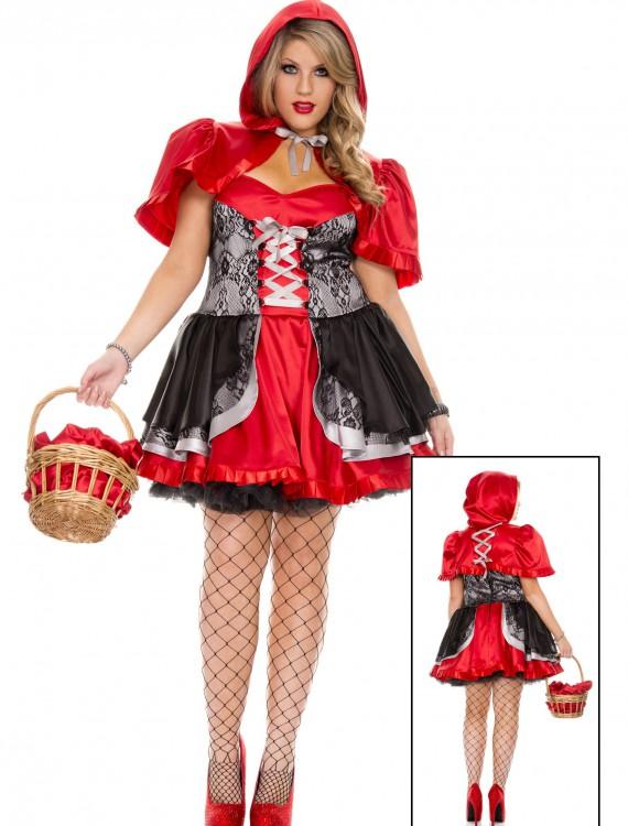 Plus Size Women's Fiery Lil' Red Costume, halloween costume (Plus Size Women's Fiery Lil' Red Costume)
