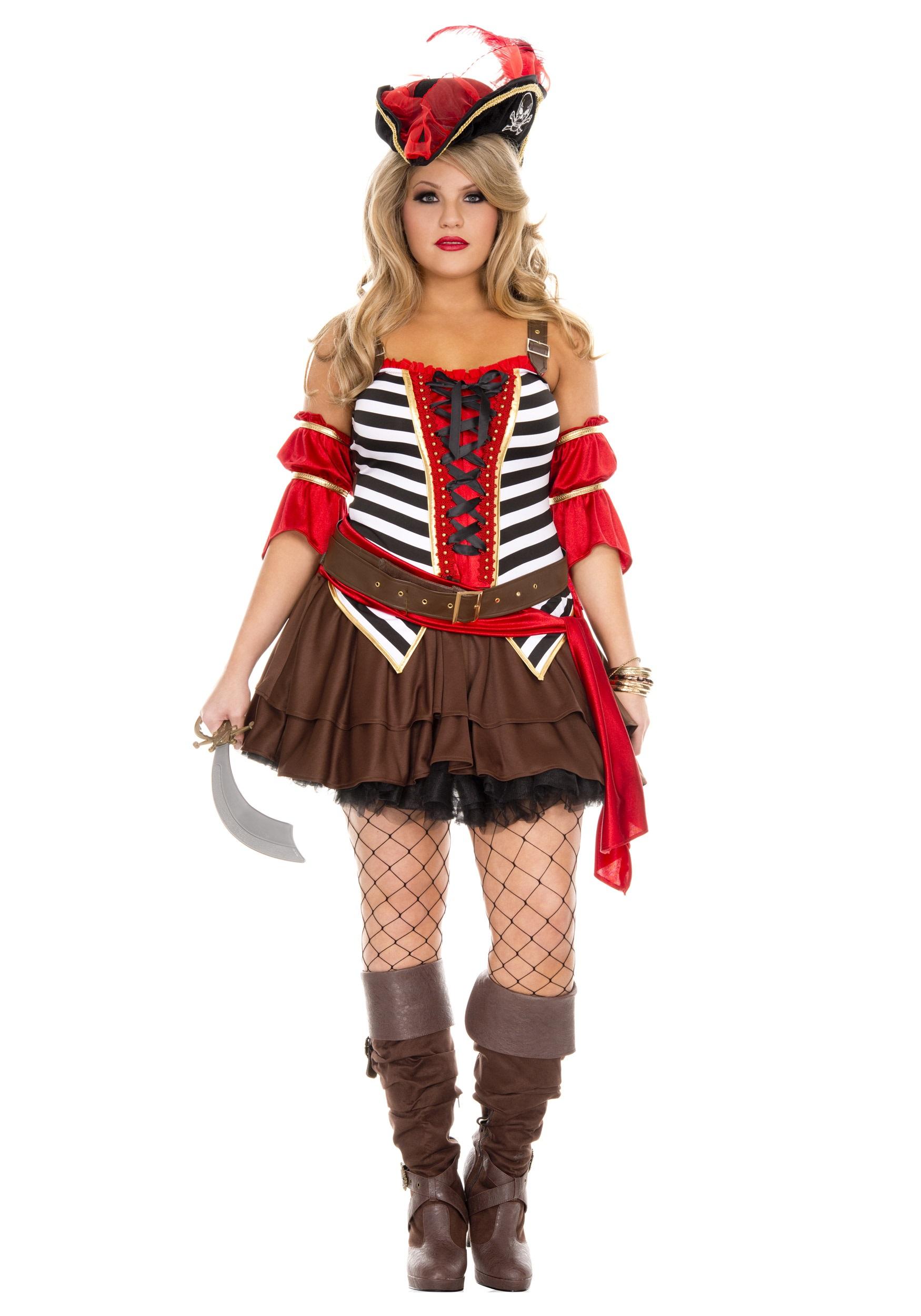 Plus Size Womenu0027s Private Pirate Costume  sc 1 st  Halloween Costumes & Plus Size Womenu0027s Private Pirate Costume - Halloween Costumes