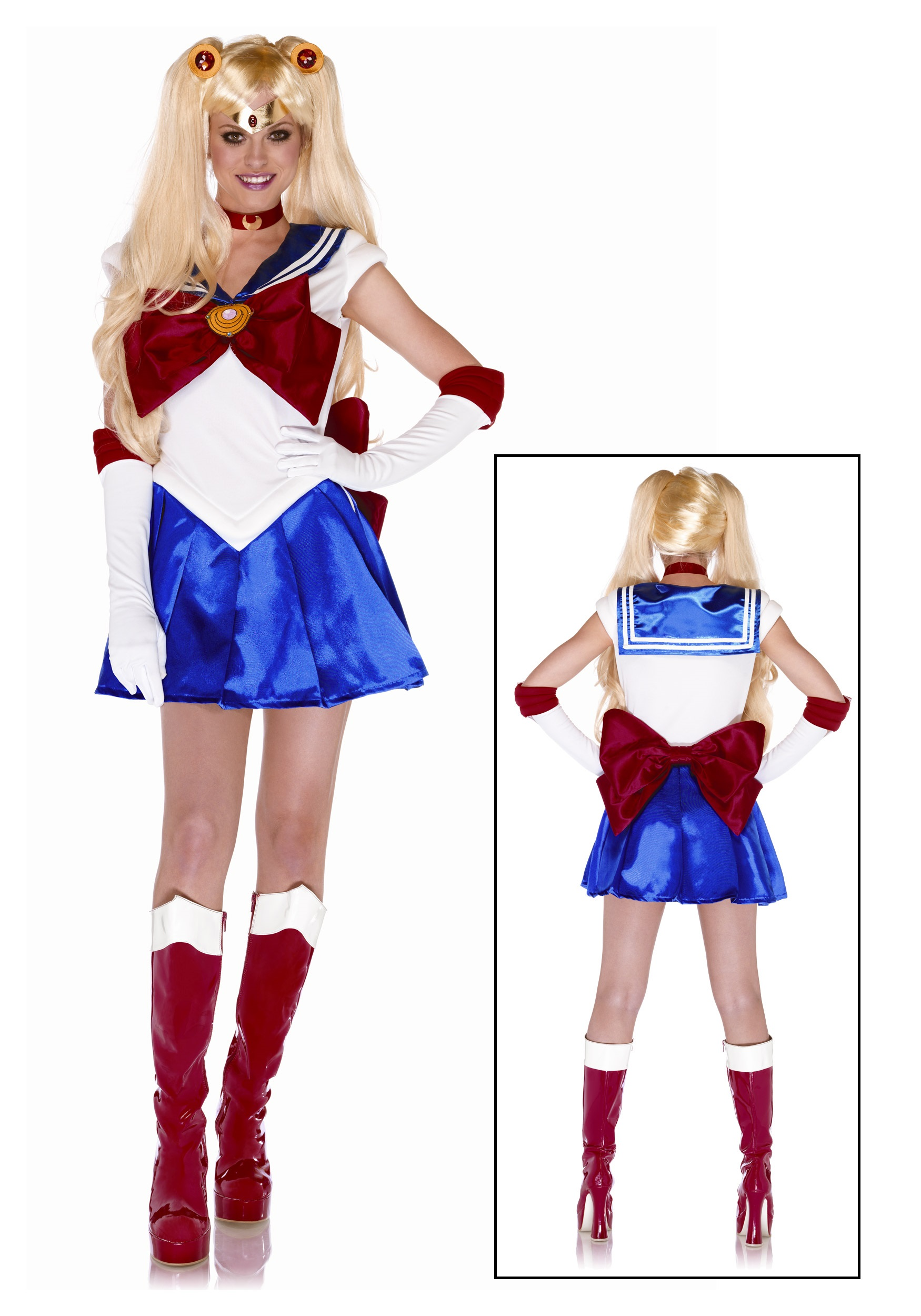 Plus Womens Sailor Moon Costume  sc 1 st  Halloween Costumes & Plus Womens Sailor Moon Costume - Halloween Costumes
