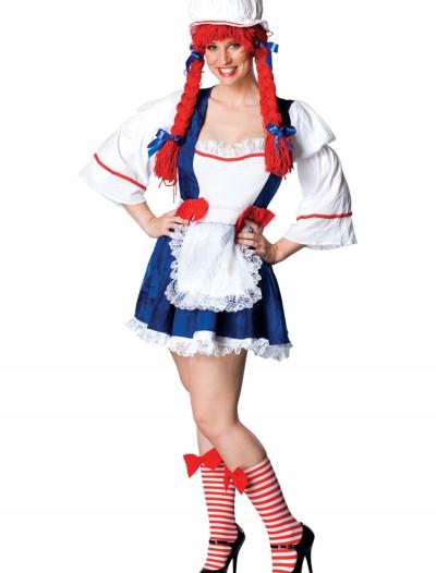 Plus Womens Storybook Rag Doll Costume, halloween costume (Plus Womens Storybook Rag Doll Costume)