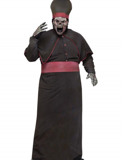 Plus Zombie High Priest Costume, halloween costume (Plus Zombie High Priest Costume)