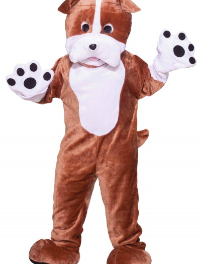 Plush Bulldog Mascot Costume, halloween costume (Plush Bulldog Mascot Costume)