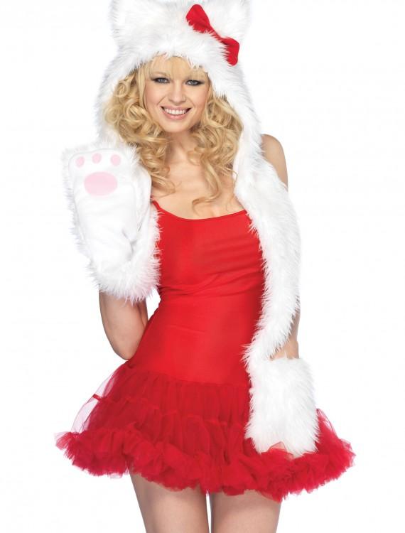 Plush Kitty Hood, halloween costume (Plush Kitty Hood)