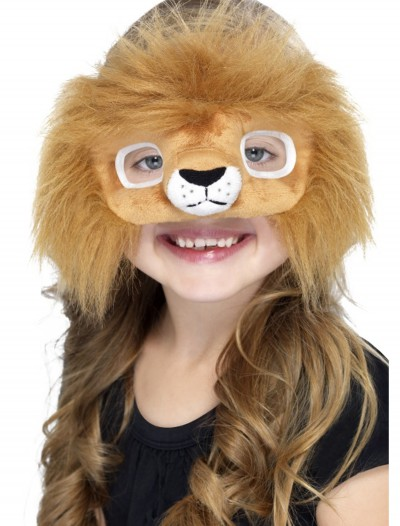 Plush Lion Eyemask, halloween costume (Plush Lion Eyemask)