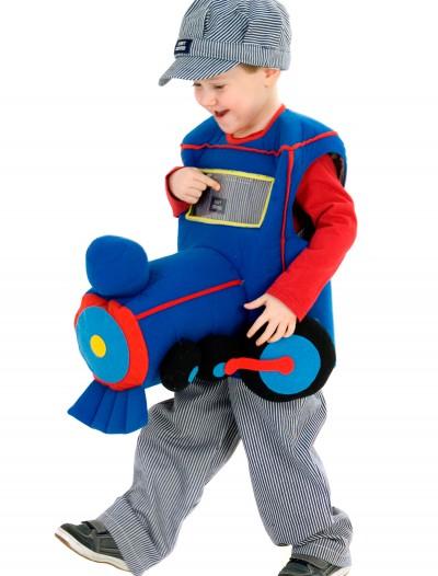 Plush Ride in Train Costume, halloween costume (Plush Ride in Train Costume)
