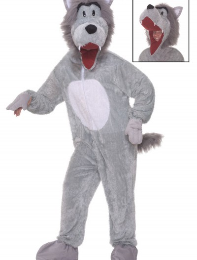 Plush Storybook Wolf Costume, halloween costume (Plush Storybook Wolf Costume)
