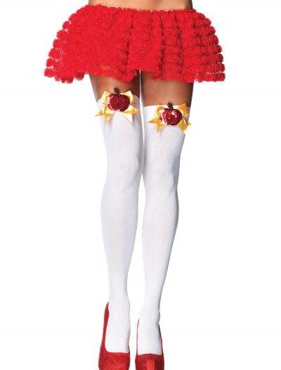 Poison Apple Thigh High Stockings, halloween costume (Poison Apple Thigh High Stockings)