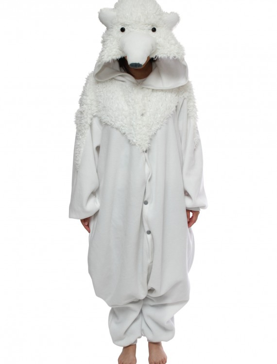 Polar Bear Pajama Costume, halloween costume (Polar Bear Pajama Costume)