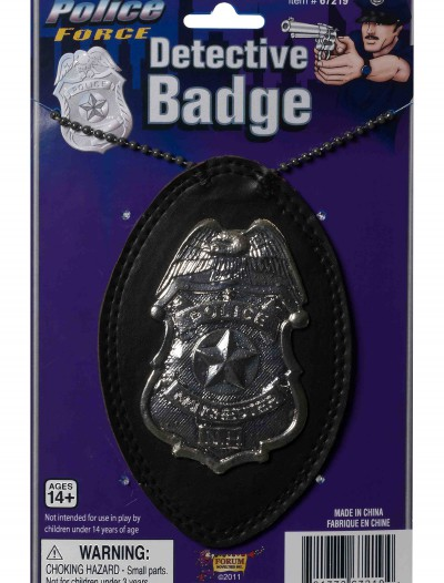 Police Detective Badge, halloween costume (Police Detective Badge)