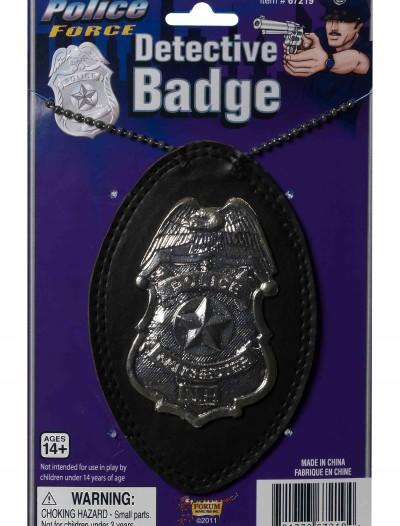 Police Detective Badge, halloween costume (Police Detective Badge)