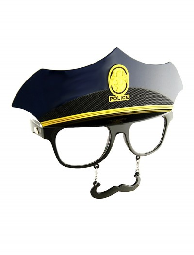 Police Mustache Glasses, halloween costume (Police Mustache Glasses)