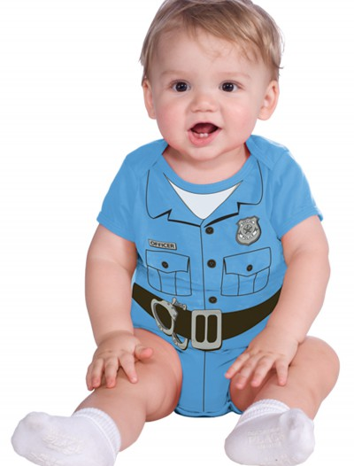 Police Officer Onesie Costume, halloween costume (Police Officer Onesie Costume)