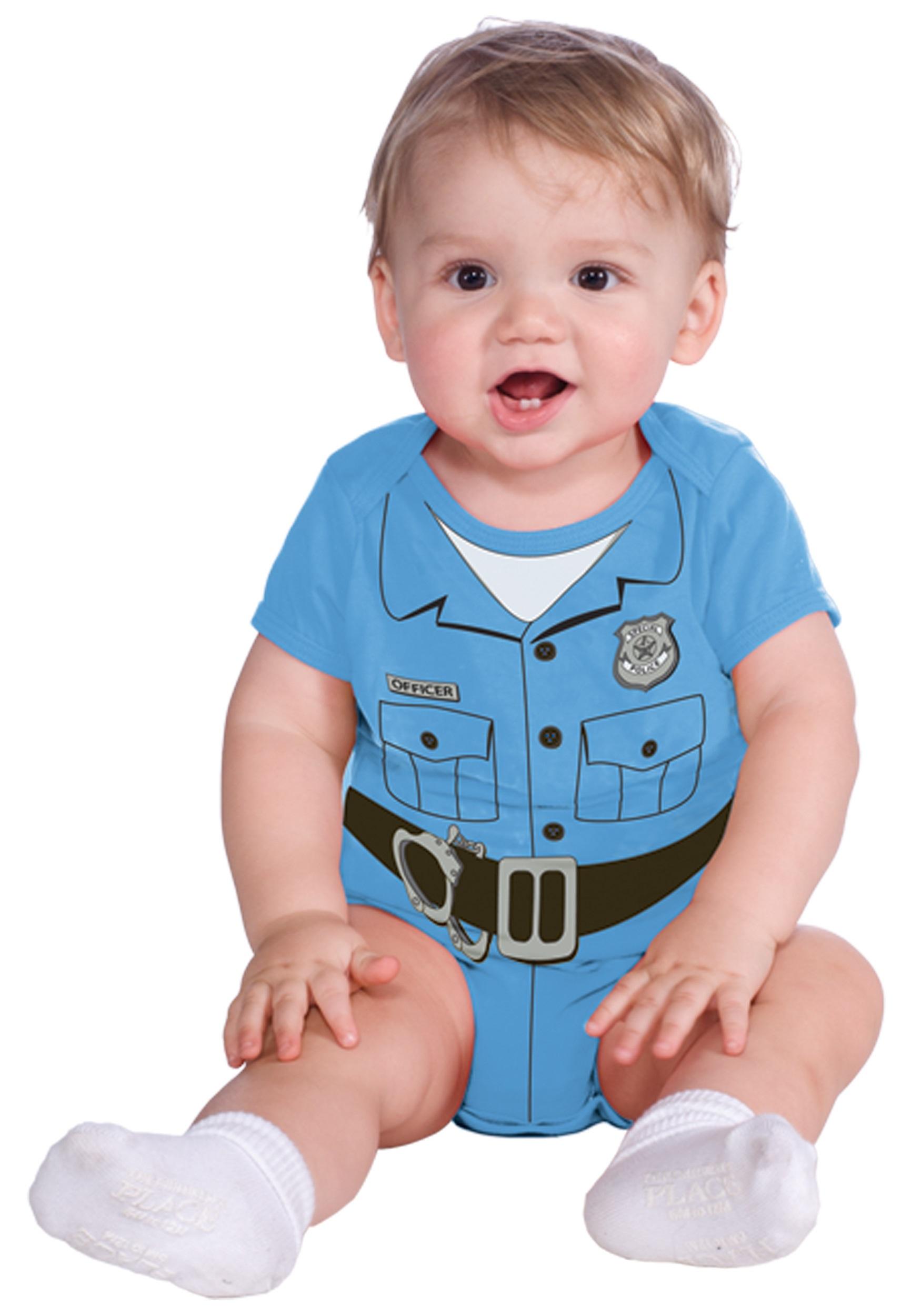 Police Officer Onesie Costume  sc 1 st  Halloween Costumes & Police Officer Onesie Costume - Halloween Costumes