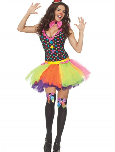 Polka Dot Tutu Clown Dress, halloween costume (Polka Dot Tutu Clown Dress)