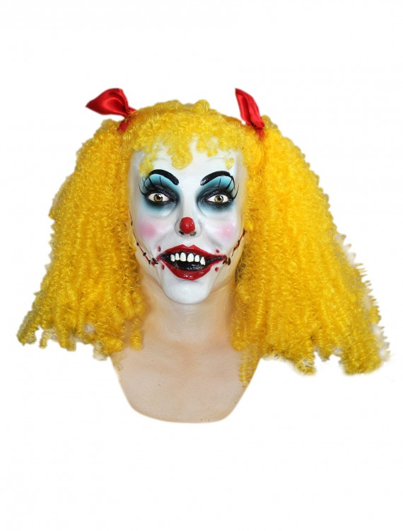 Polly the Clown Mask, halloween costume (Polly the Clown Mask)