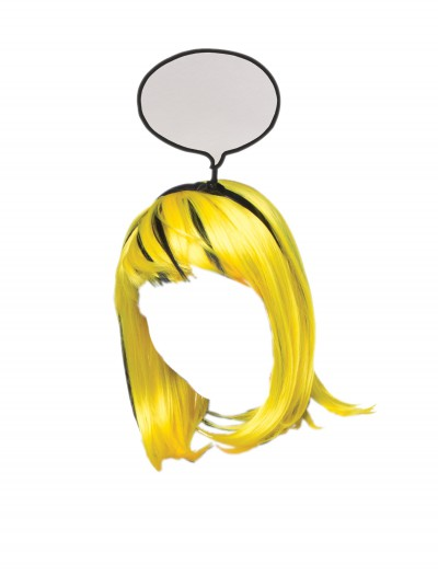 Pop Art Girl Wig, halloween costume (Pop Art Girl Wig)