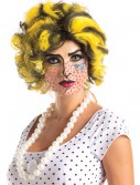 Pop Art Wig, halloween costume (Pop Art Wig)