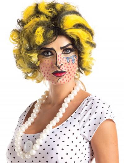 Pop Art Wig, halloween costume (Pop Art Wig)