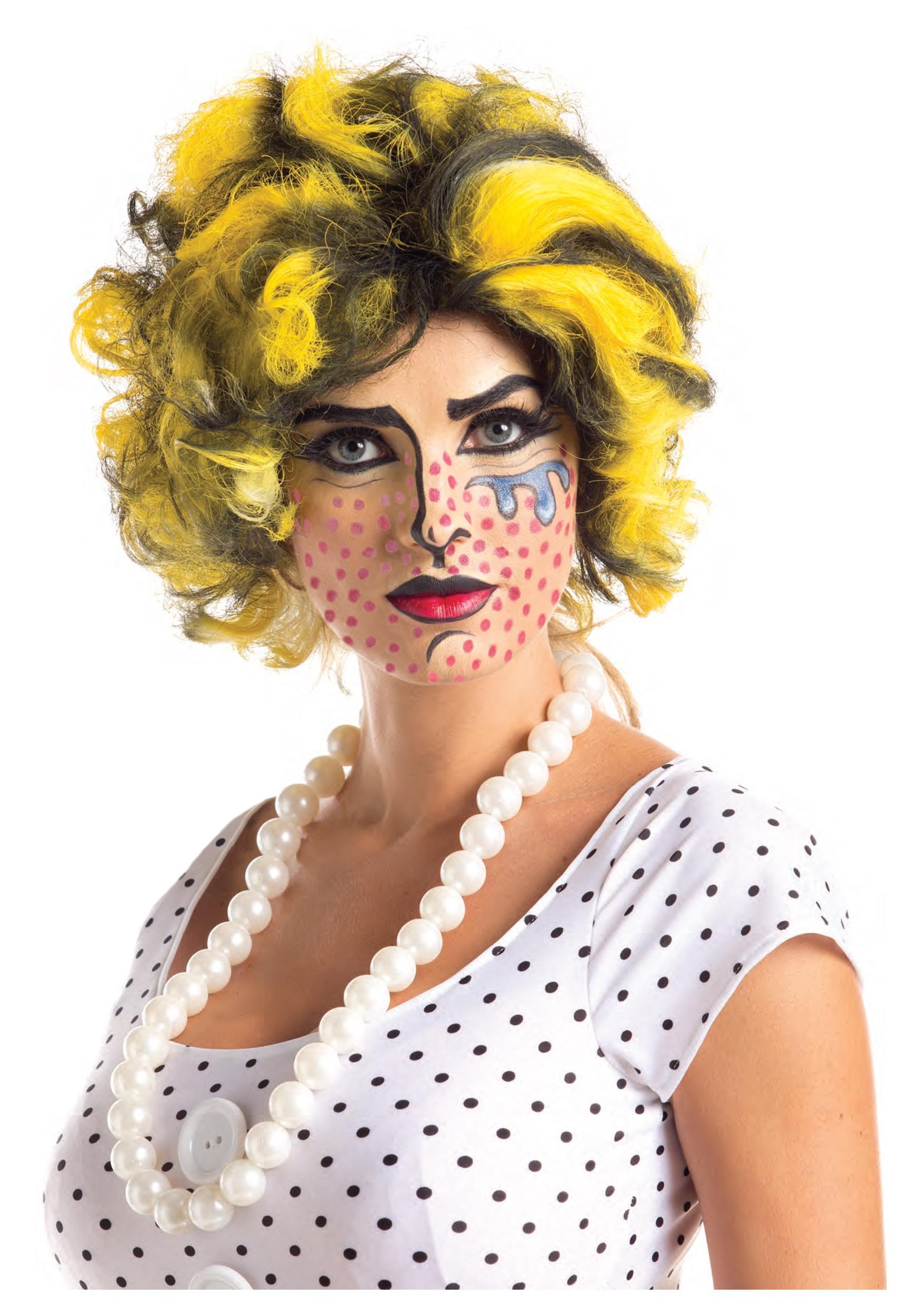 Pop Art Wig  sc 1 st  Halloween Costumes & Pop Art Wig - Halloween Costumes