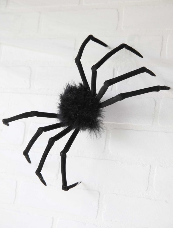 """Poseable 16"""" Small Furry Spider, halloween costume (Poseable 16"""" Small Furry Spider)"""