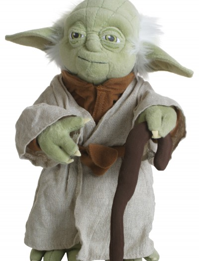 Poseable Plush Yoda Doll, halloween costume (Poseable Plush Yoda Doll)