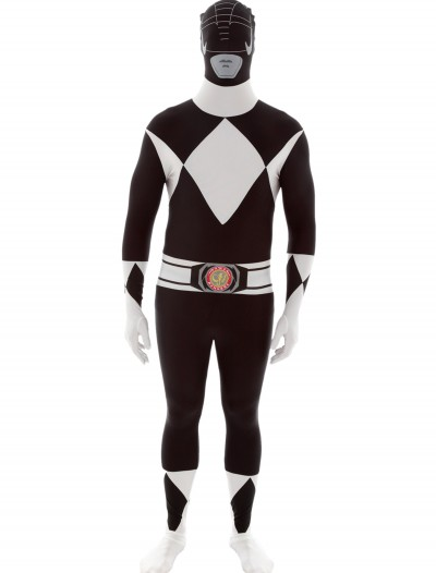 Power Rangers: Black Ranger Morphsuit, halloween costume (Power Rangers: Black Ranger Morphsuit)