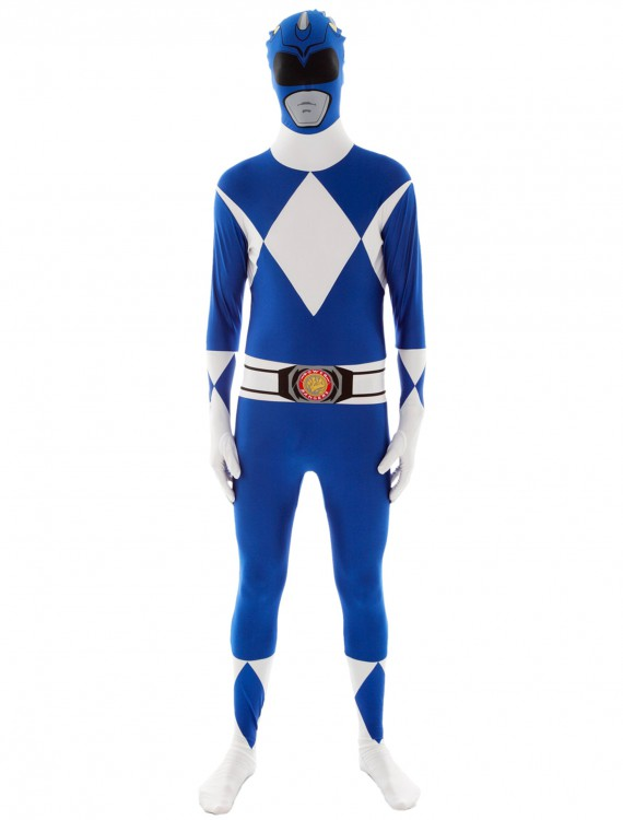 Power Rangers: Blue Ranger Morphsuit, halloween costume (Power Rangers: Blue Ranger Morphsuit)