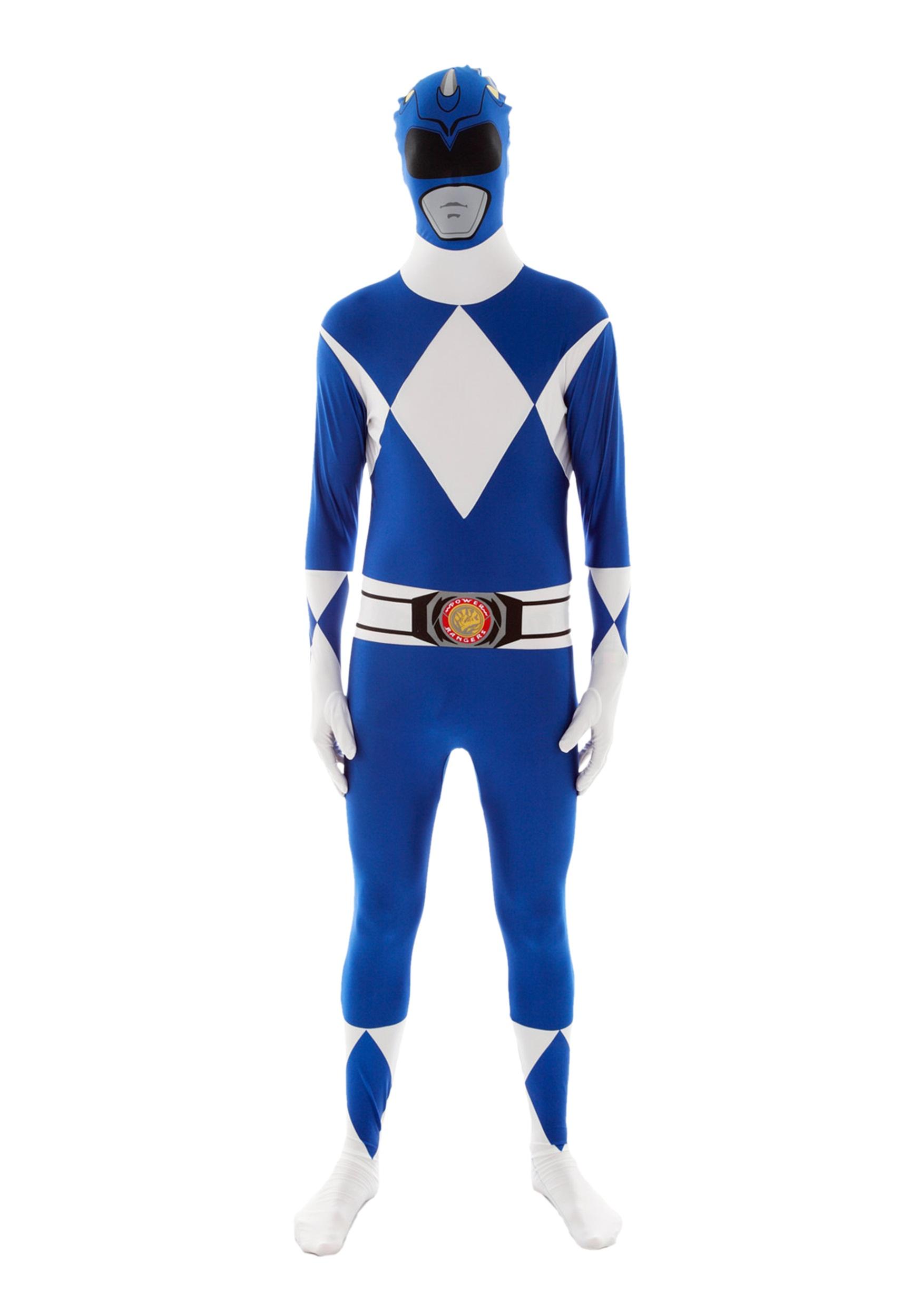 power rangers blue ranger morphsuit - Morphsuits Halloween Costumes