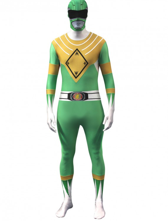 Power Rangers: Green Ranger Morphsuit, halloween costume (Power Rangers: Green Ranger Morphsuit)