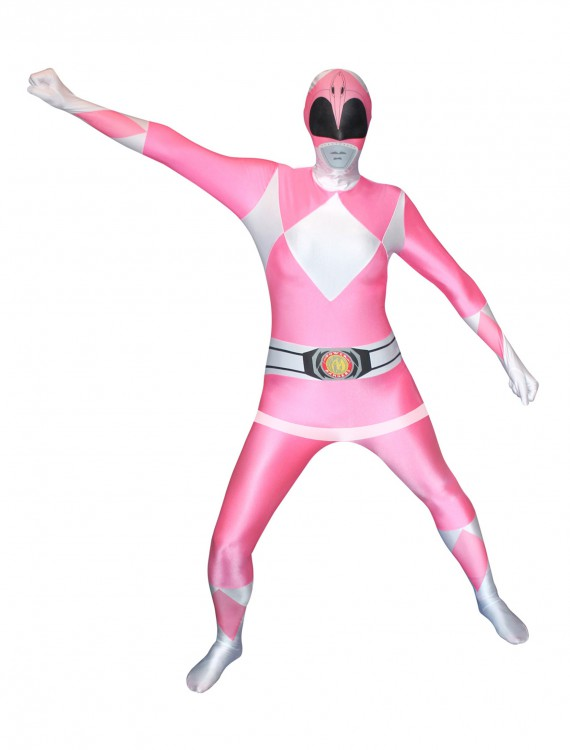 Power Rangers: Pink Ranger Morphsuit, halloween costume (Power Rangers: Pink Ranger Morphsuit)