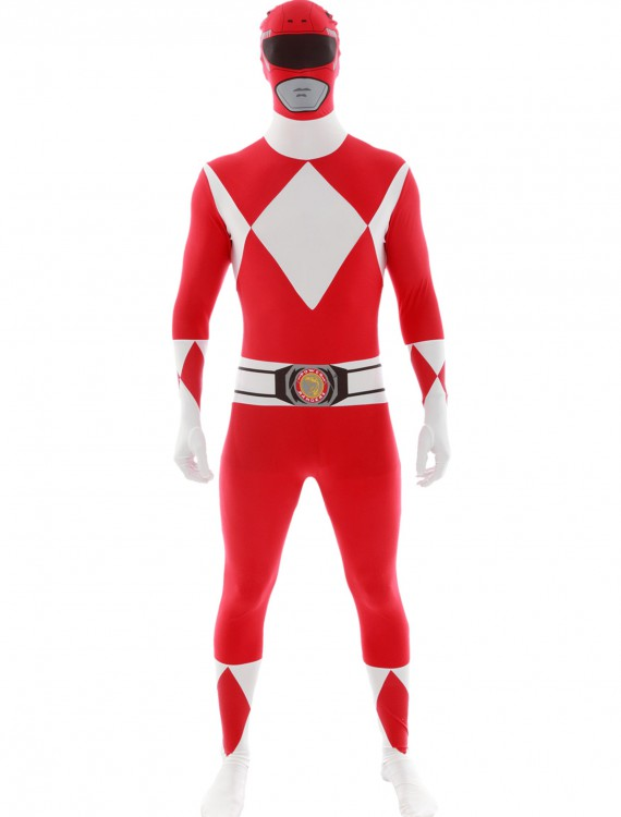 Power Rangers: Red Ranger Morphsuit, halloween costume (Power Rangers: Red Ranger Morphsuit)