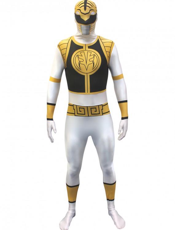 Power Rangers: White Ranger Morphsuit, halloween costume (Power Rangers: White Ranger Morphsuit)