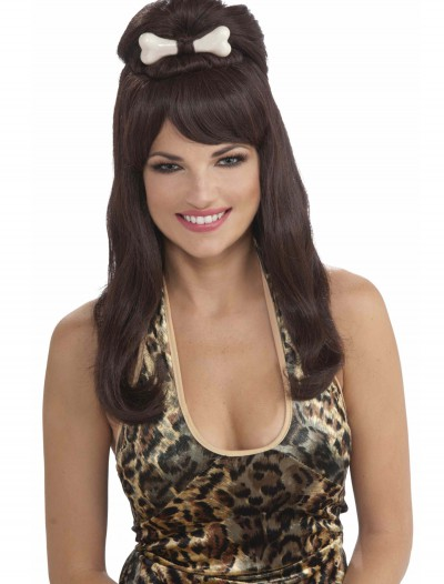 Prehistoric Brown Princess Wig, halloween costume (Prehistoric Brown Princess Wig)