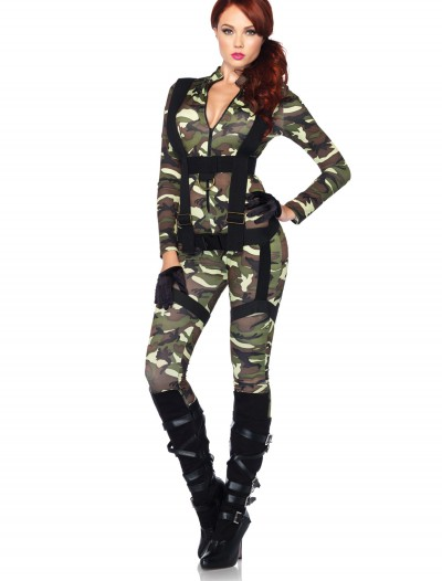 Pretty Paratrooper Costume, halloween costume (Pretty Paratrooper Costume)