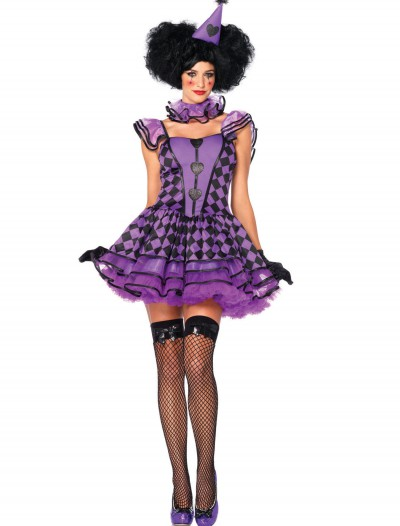 Pretty Parisian Clown Costume, halloween costume (Pretty Parisian Clown Costume)