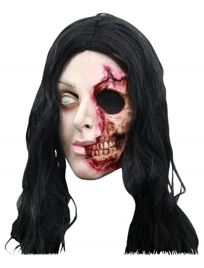 Pretty Zombie Woman Mask, halloween costume (Pretty Zombie Woman Mask)