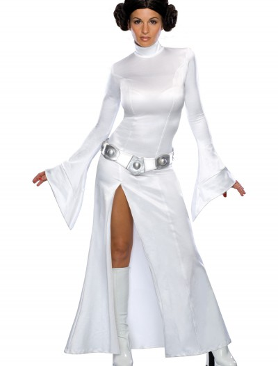 Princess Leia Adult White Dress, halloween costume (Princess Leia Adult White Dress)
