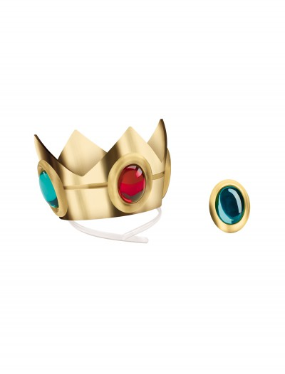 Princess Peach Crown and Amulet, halloween costume (Princess Peach Crown and Amulet)