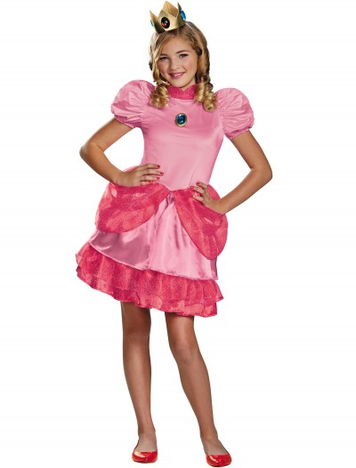 Princess Peach Tween Costume, halloween costume (Princess Peach Tween Costume)