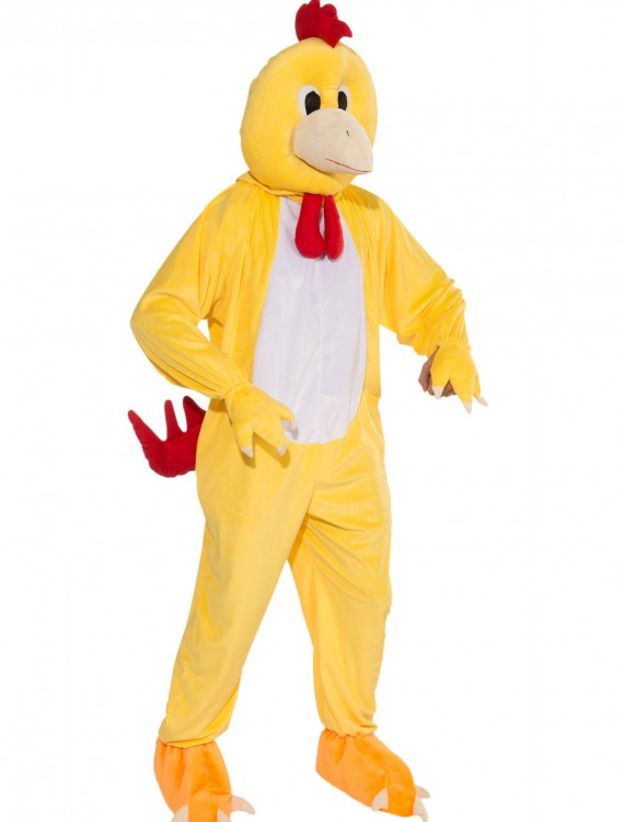 Promotional Chicken Mascot Costume, halloween costume (Promotional Chicken Mascot Costume)