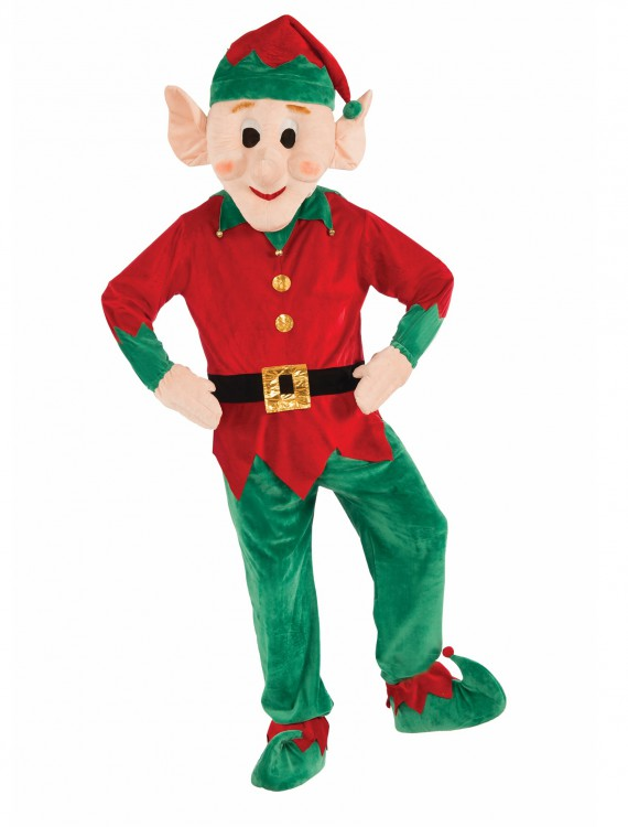 Promotional Elf Mascot Costume, halloween costume (Promotional Elf Mascot Costume)