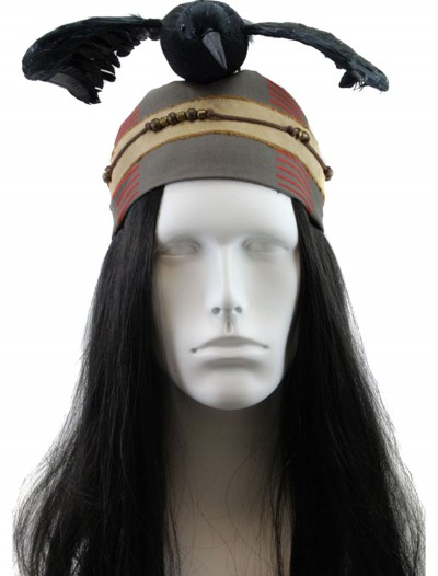 Prop Replica Tonto Crow Headdress, halloween costume (Prop Replica Tonto Crow Headdress)