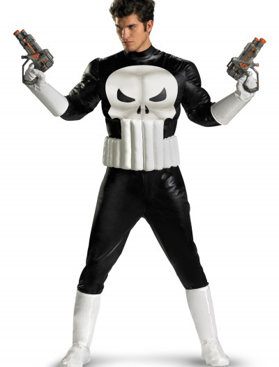 Punisher Adult Costume, halloween costume (Punisher Adult Costume)