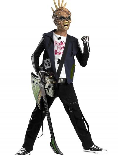 Punk Rocker Zombie Costume, halloween costume (Punk Rocker Zombie Costume)