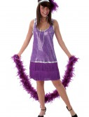 Purple Flapper Dress, halloween costume (Purple Flapper Dress)